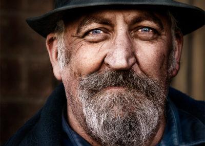 man portrait at port adelaide Fishermans Wharf Market Port Adelaide