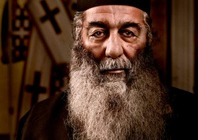 greek priest portrait at port adelaide