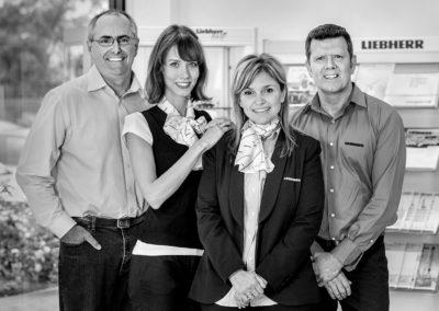 Group Staff Portrait, Liebherr Australia