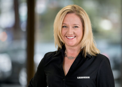 Corporate Lady Liebherr Australia