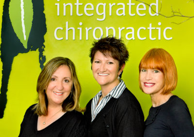 lady receptionists at Integrated Chiropractic