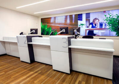 Architecture interior ANZ Bank