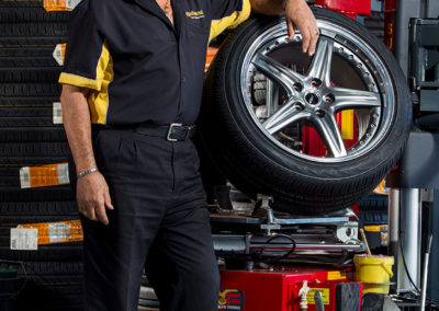 Vince, Continental Tyres Nailsworth
